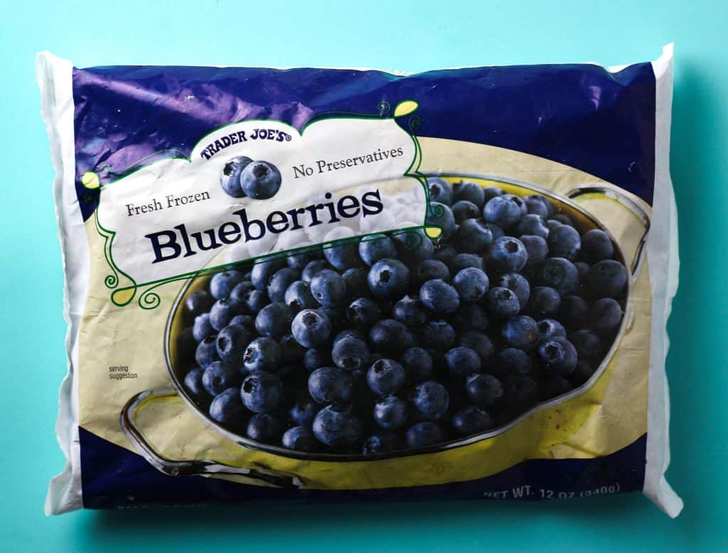 Trader Joe's Frozen Blueberries bag