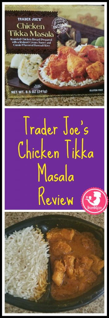 Trader Joe's Chicken Tikka Masala review. Want to know if this is something worth buying from Trader Joe's? All pins link to BecomeBetty.com where you can find reviews, pictures, thoughts, calorie counts, nutritional information, how to prepare, allergy information, price, and how to prepare each product.
