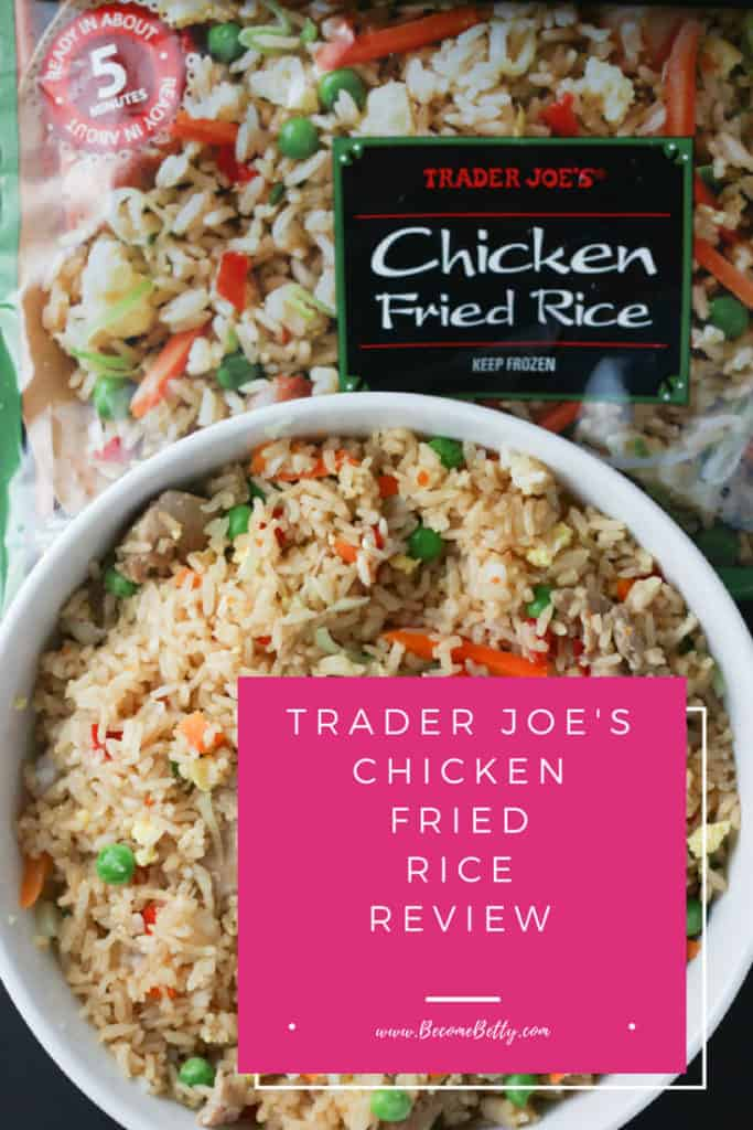 Trader Joe's Chicken Fried Rice review