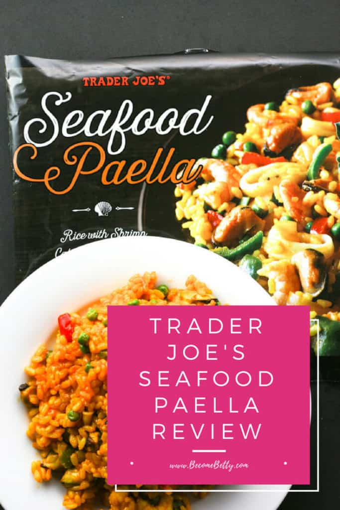 Trader Joe's Seafood Paella
