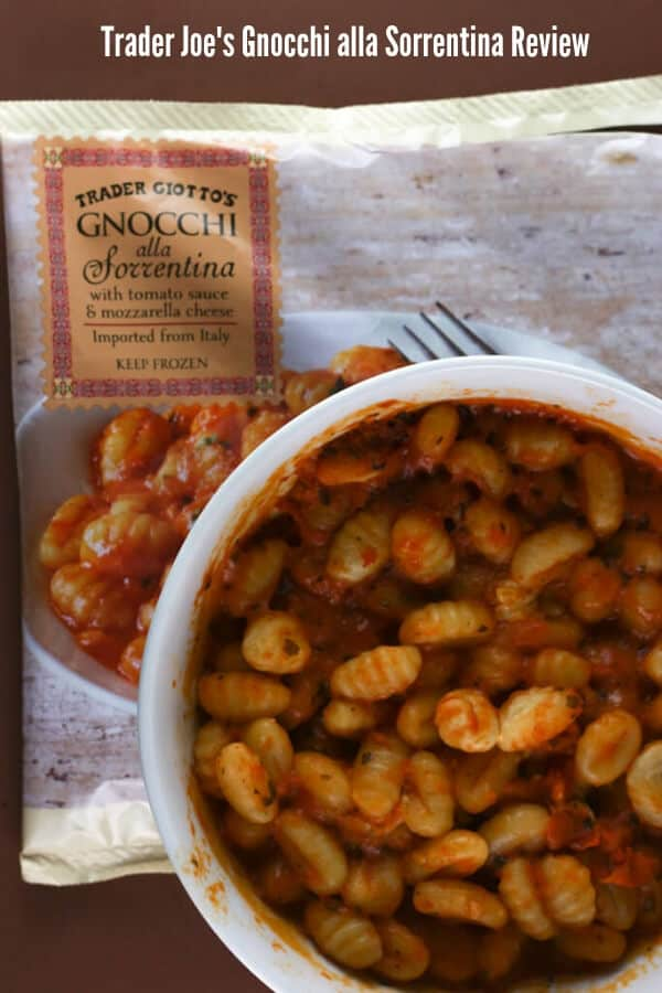 Trader Joe's Gnocchi alla Sorrentina Review Pin for Pinterest