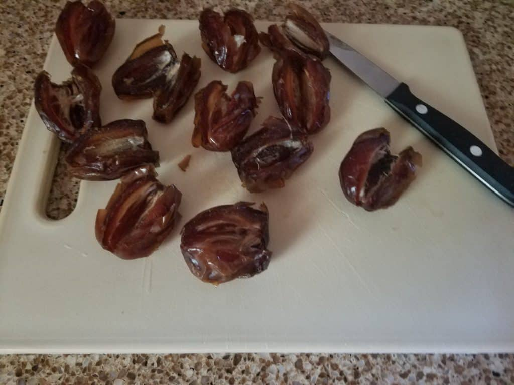 Dates Stuffed with Goat Cheese and Wrapped in Prosciutto Recipe
