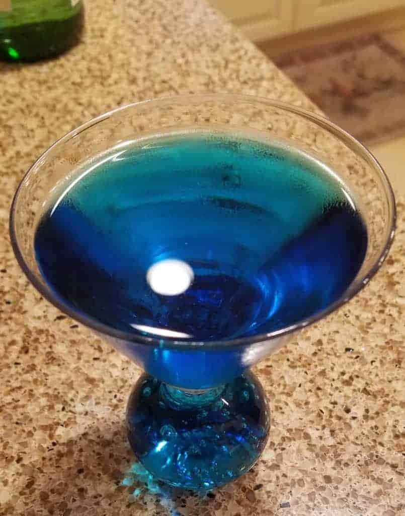 I'm Feeling Blue Martini Recipe