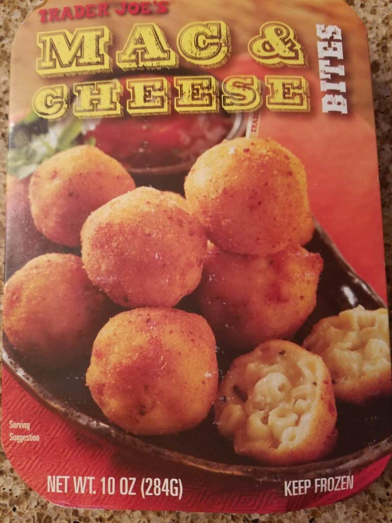 Trader Joe's Mac and Cheese Bites