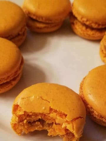 Trader Joes Pumpkin Macarons
