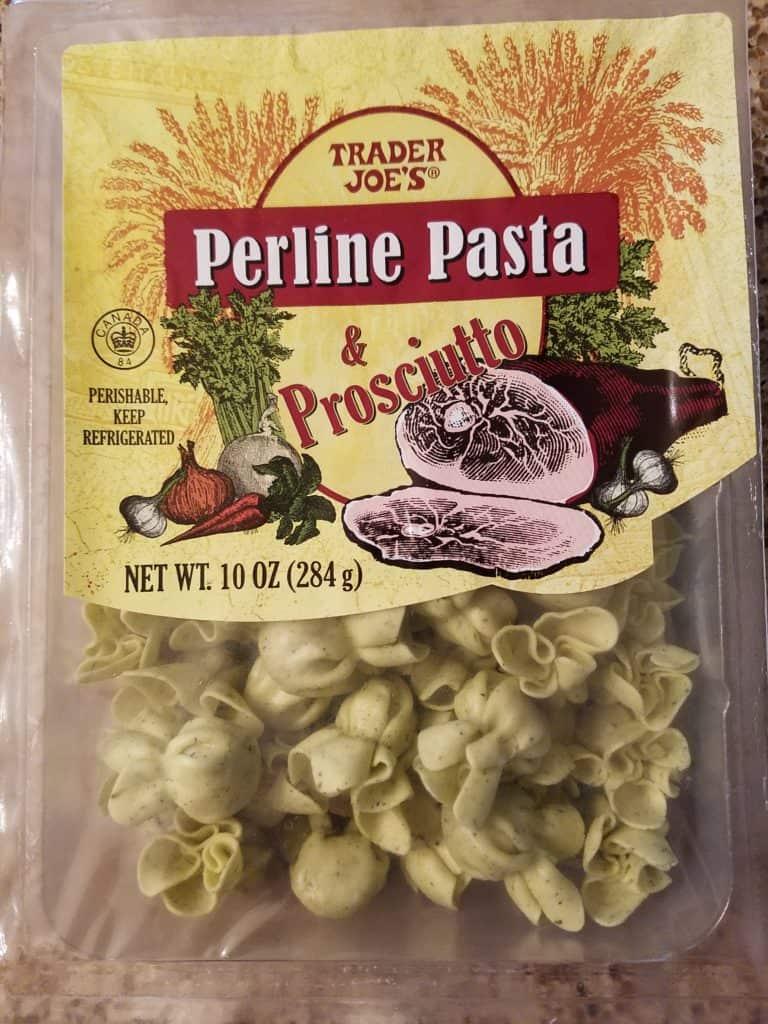 Trader Joe's Perline Pasta and Prosciutto