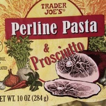 Trader Joe's Perline Pasta and Prosciutto