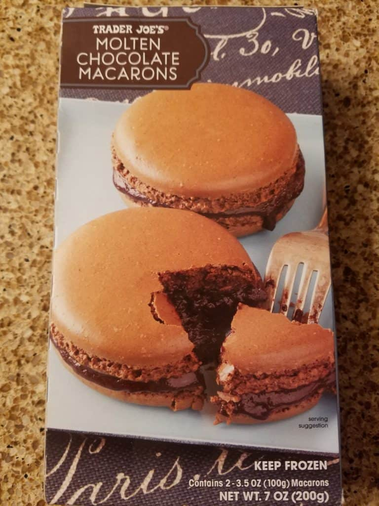 Trader Joe's Molten Chocolate Macarons