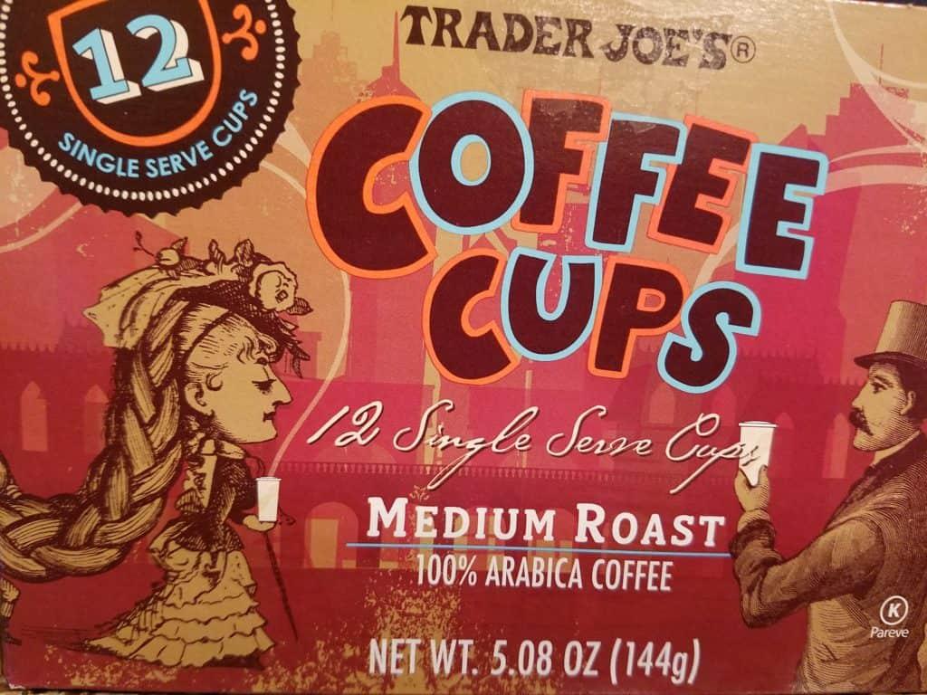 Trader Joe's Coffee Cups Medium Roast
