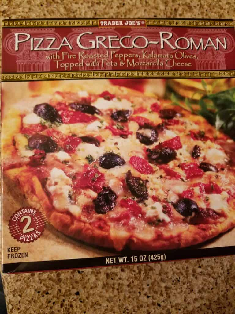 Trader Joe's Pizza Greco Roman