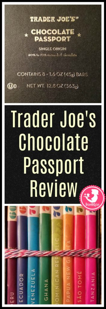 Trader Joe's Chocolate Passport is a winter seasonal product that makes for a great gift idea. My review follows. Want to know if this is something worth putting on your shopping list from Trader Joe's? All pins link to BecomeBetty.com where you can find reviews, pictures, thoughts, calorie counts, nutritional information, how to prepare, allergy information, price, and how to prepare each product.