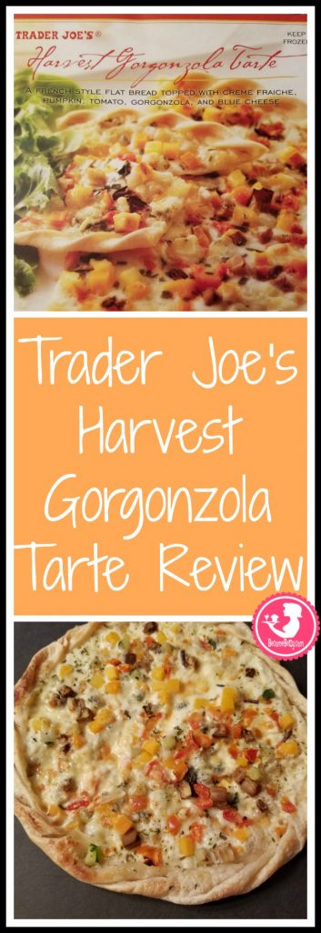 Trader Joe's Harvest Gorgonzola Tarte is frozen and full of seasonal autumn flavors like pumpkin and blue cheese. My review is posted. Want to know if this is something worth putting on your shopping list from Trader Joe's? All pins link to BecomeBetty.com where you can find reviews, pictures, thoughts, calorie counts, nutritional information, how to prepare, allergy information, price, and how to prepare each product.