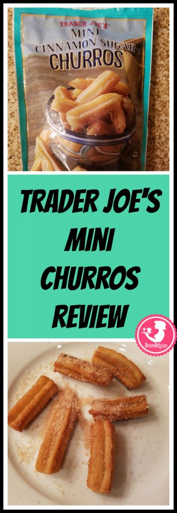 Trader Joe's Mini Cinnamon Sugar Churros are found in the frozen dessert section. How are they? Want to know if this is something worth putting on your shopping list from Trader Joe's? All pins link to BecomeBetty.com where you can find reviews, pictures, thoughts, calorie counts, nutritional information, how to prepare, allergy information, price, and how to prepare each product.