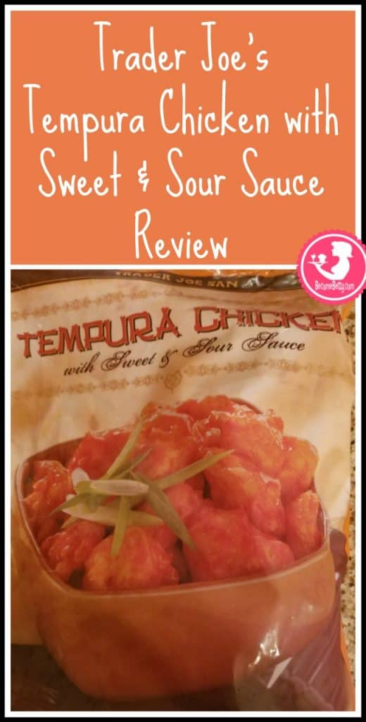 Trader Joe's Tempura Chicken with Sweet and Sour Sauce review. Want to know if this is something worth putting on your shopping list from Trader Joe's? All pins link to BecomeBetty.com where you can find reviews, pictures, thoughts, calorie counts, nutritional information, how to prepare, allergy information, price, and how to prepare each product.