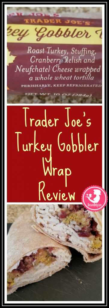 Trader Joe's Turkey Gobbler Wrap is a seasonal refrigerated item.  My review is posted. Want to know if this is something worth putting on your shopping list from Trader Joe's? All pins link to BecomeBetty.com where you can find reviews, pictures, thoughts, calorie counts, nutritional information, how to prepare, allergy information, price, and how to prepare each product.