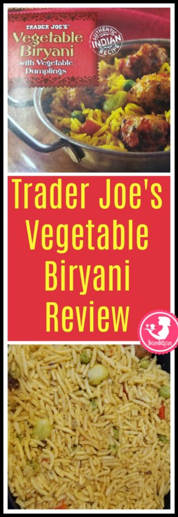 Trader Joe S Vegetable Biryani