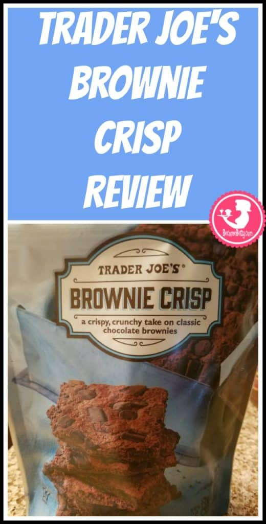 Trader Joe's Brownie Crisp review of this vegan and gluten free item. Want to know if this is something worth putting on your shopping list from Trader Joe's? All pins link to BecomeBetty.com where you can find reviews, pictures, thoughts, calorie counts, nutritional information, how to prepare, allergy information, price, and how to prepare each product.