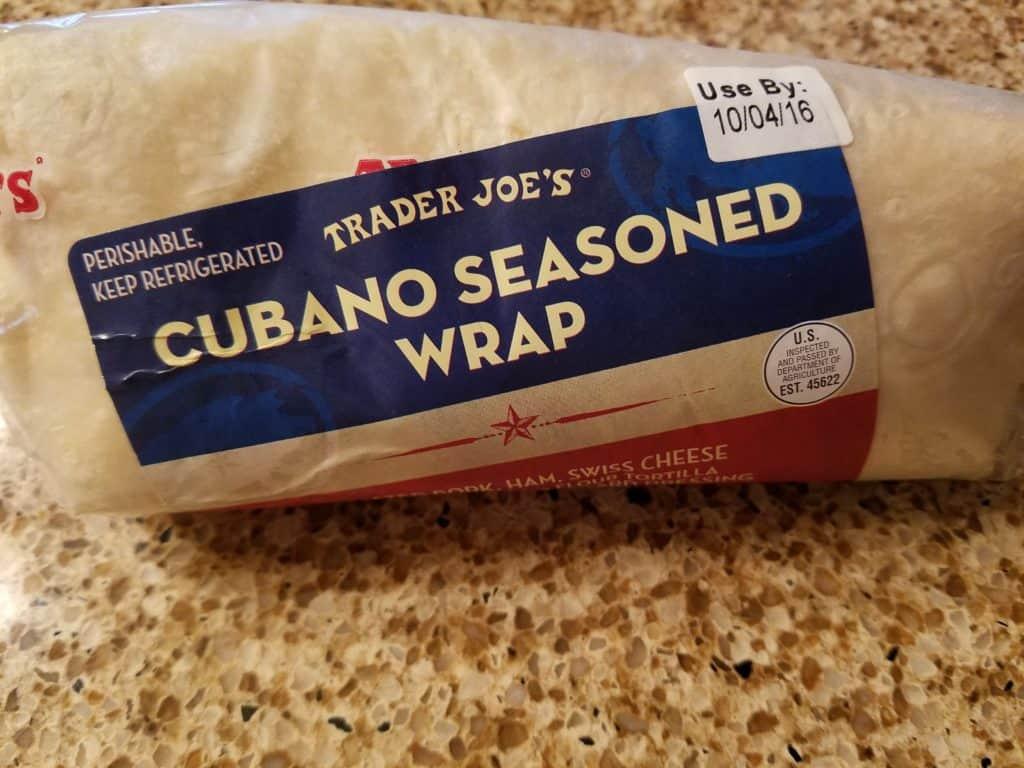 Trader Joe's Cubano Seasoned Wrap