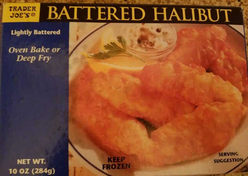 Trader Joes Battered Halibut