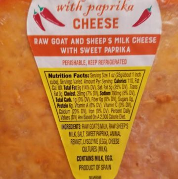 Trader Joe's Buenalba with Sweet Paprika Cheese