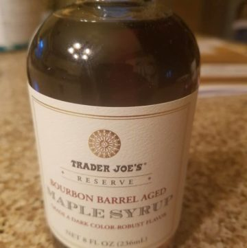 Trader Joe's Bourbon Barrel Aged Maple Syrup