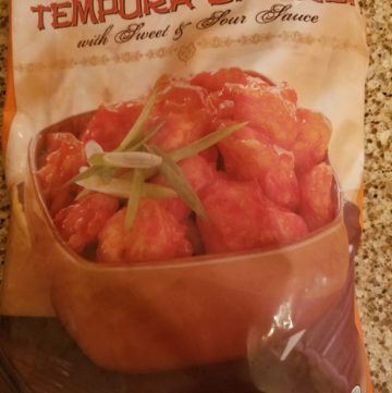 Trader Joe's Tempura Chicken with Sweet and Sour Sauce