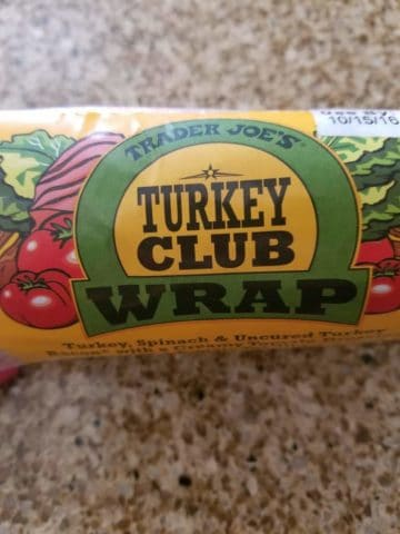 Trader Joes Turkey Club Wrap