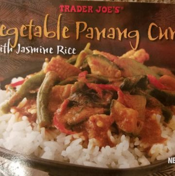 Trader Joe's Vegetable Panang Curry with Jasmine Rice