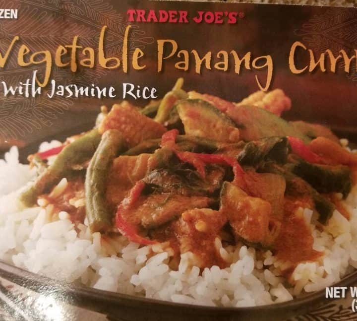 Trader Joes Vegetable Panang Curry