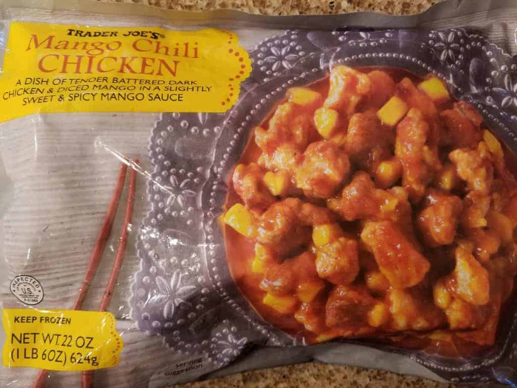 Trader Joe's Mango Chili Chicken
