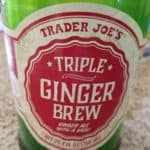 A new bottle of Trader Joe's Triple Ginger Brew