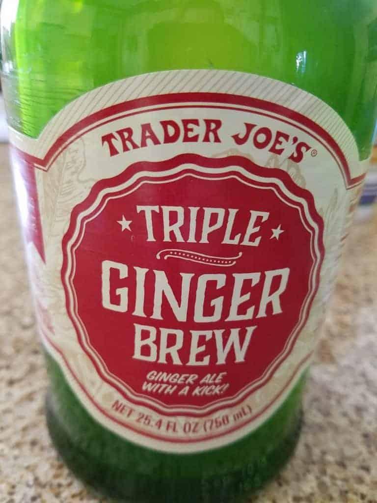 Trader Joe's Triple Ginger Brew