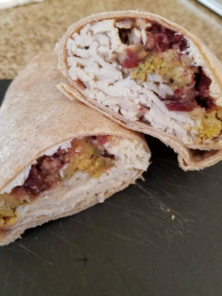 Trader Joe's Turkey Gobbler Wrap