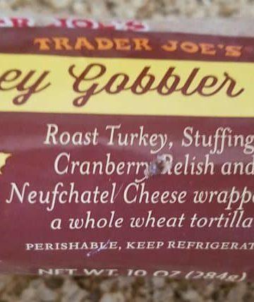 Trader Joes Turkey Gobbler Wrap