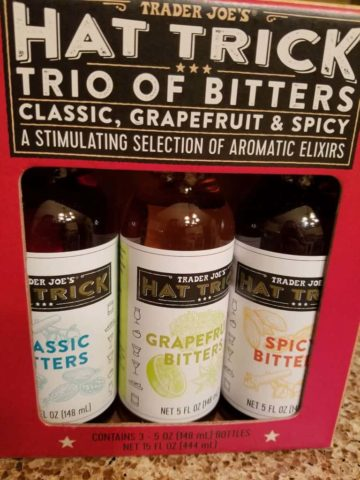Trader Joes Hat Trick Trio of Bitters