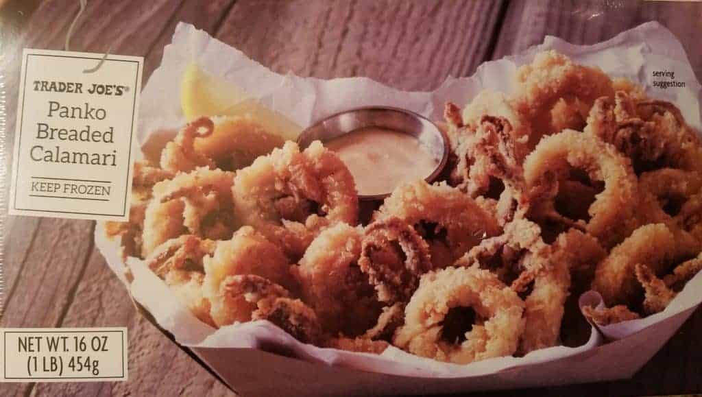 Trader Joe's Panko Breaded Calamari