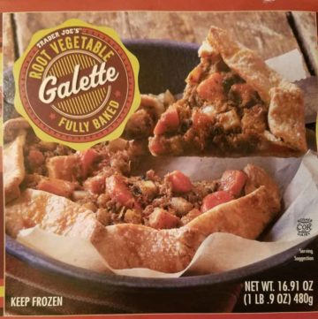 Trader Joe's Root Vegetable Galette