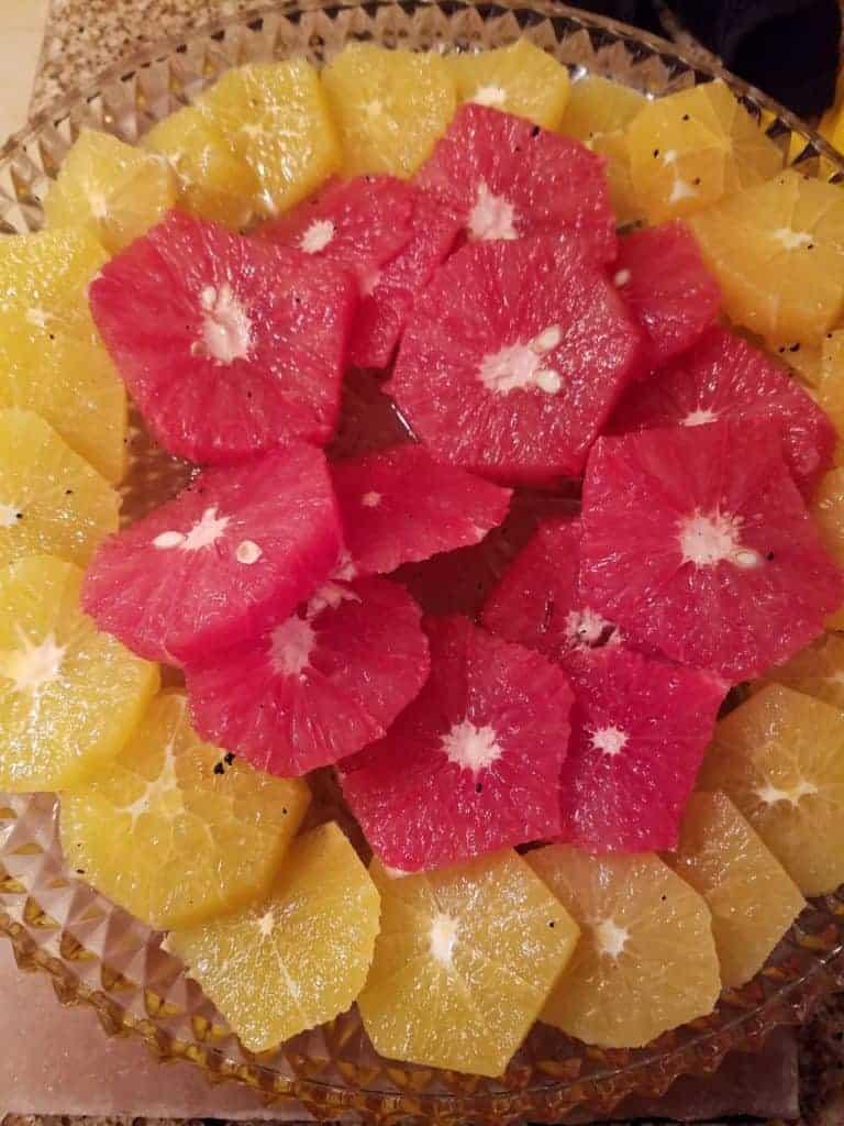 Citrus Vanilla Salad
