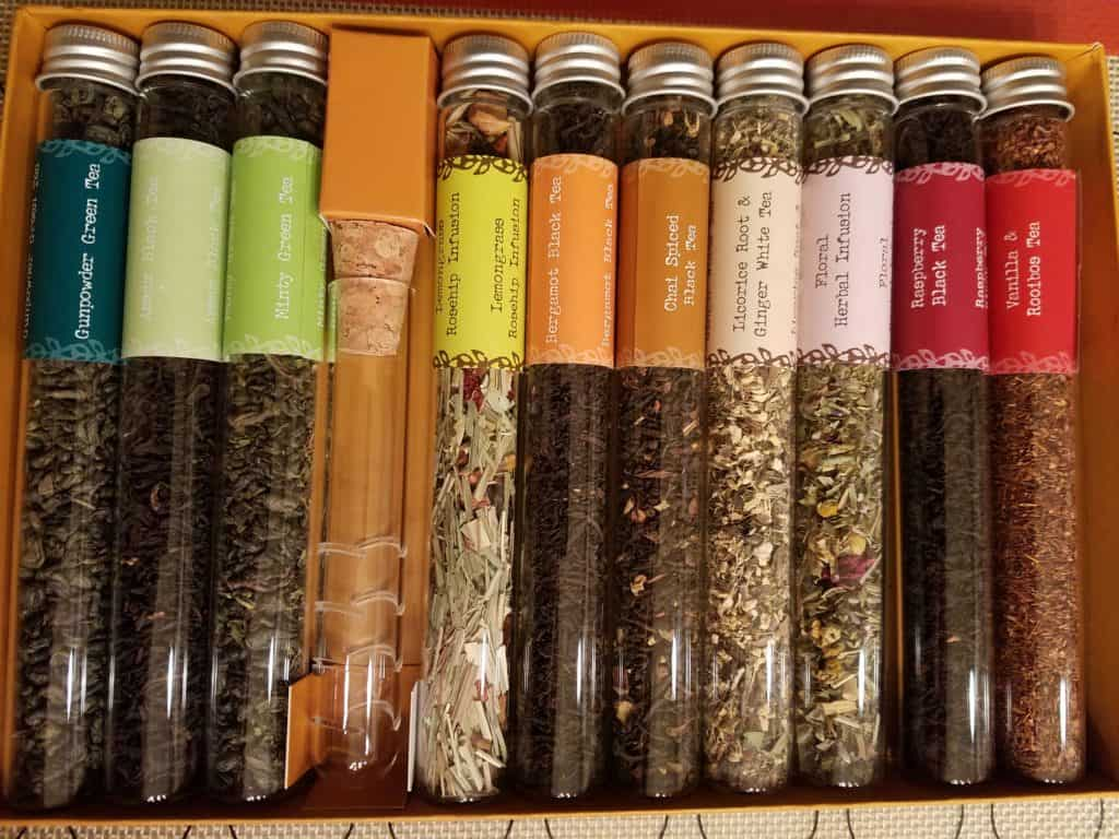 Trader Joe's Tasting of Ten Teas