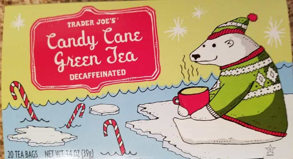 Trader Joe's Candy Cane Green Tea