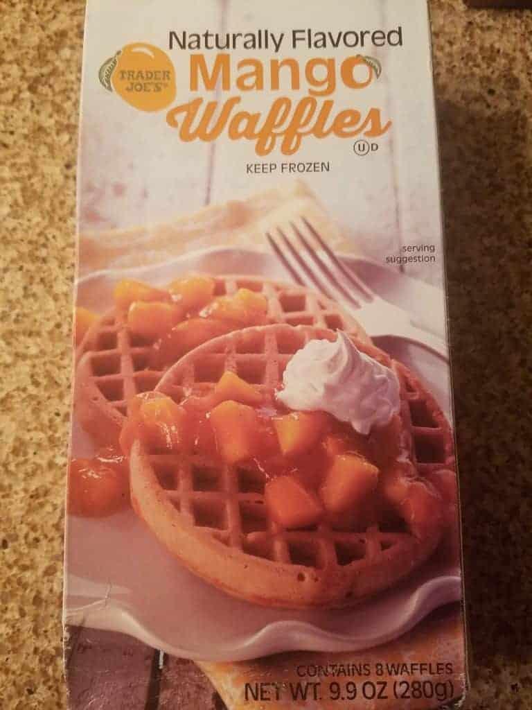 Trader Joe's Mango Waffles