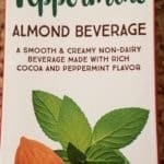 Trader Joes Chocolate Peppermint Almond Beverage