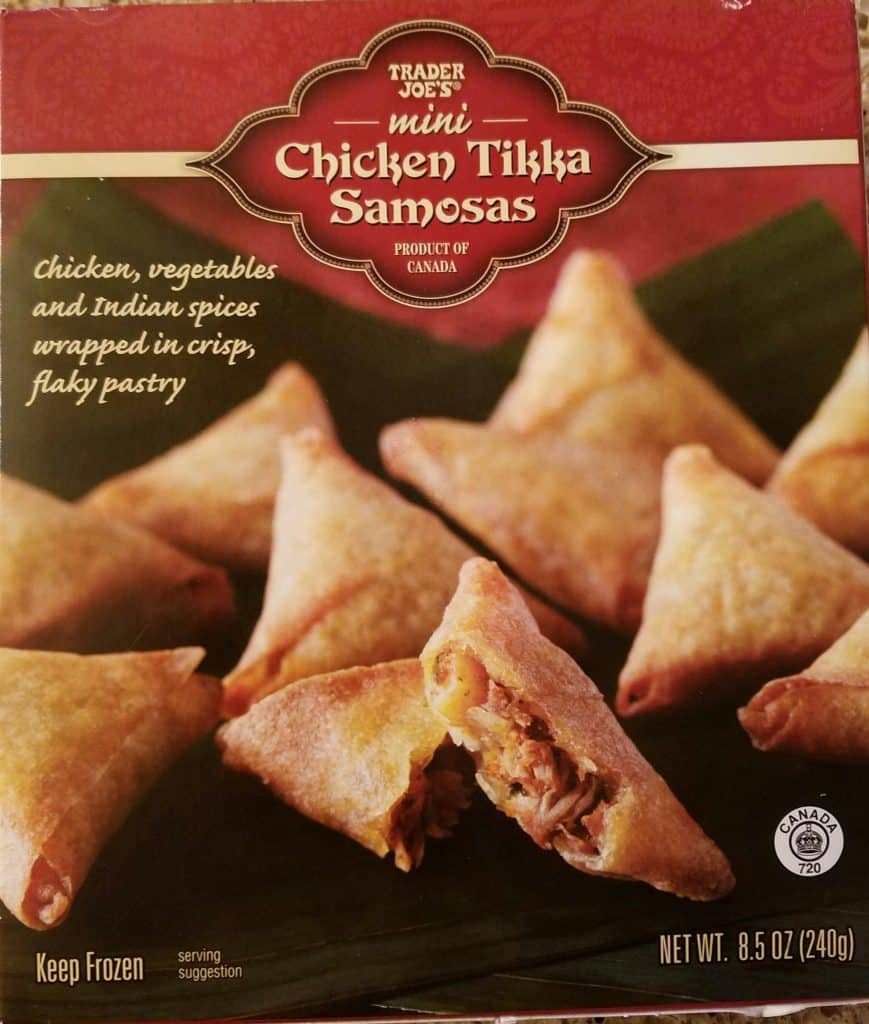 Trader Joe's Mini Chicken Tikka Samosas