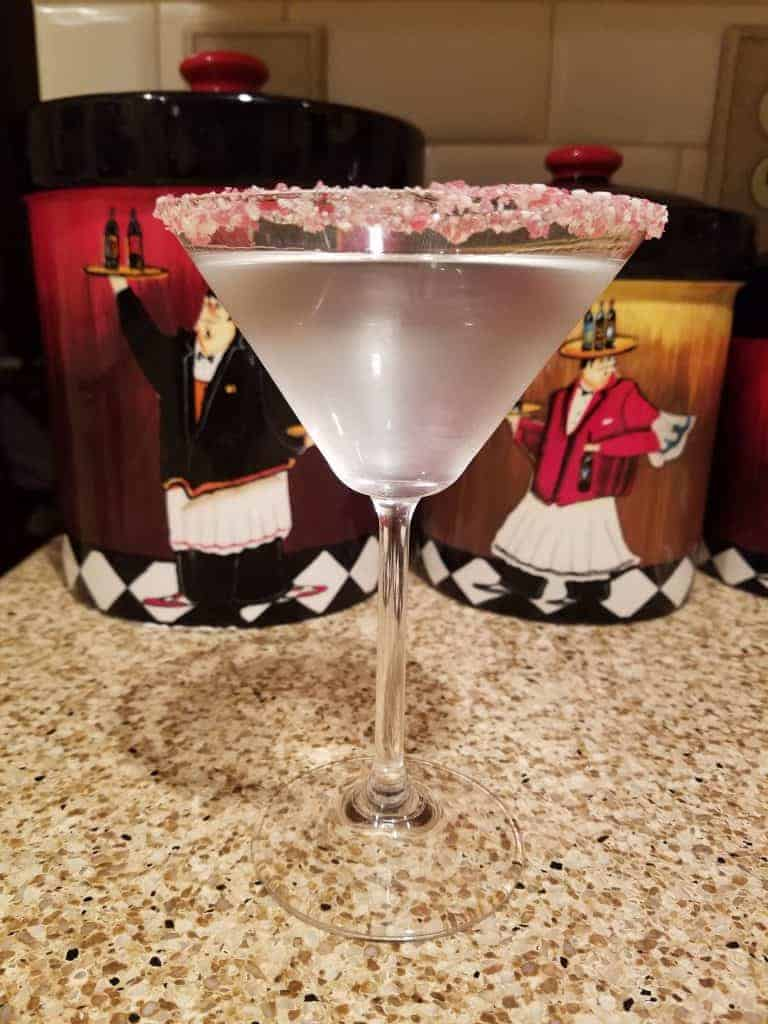 Holly Jolly Peppermint Martini