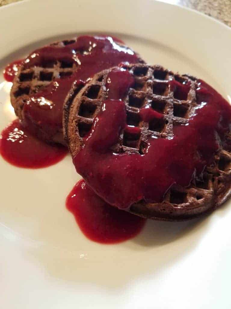 Trader Joes Chocolate Chip Waffles