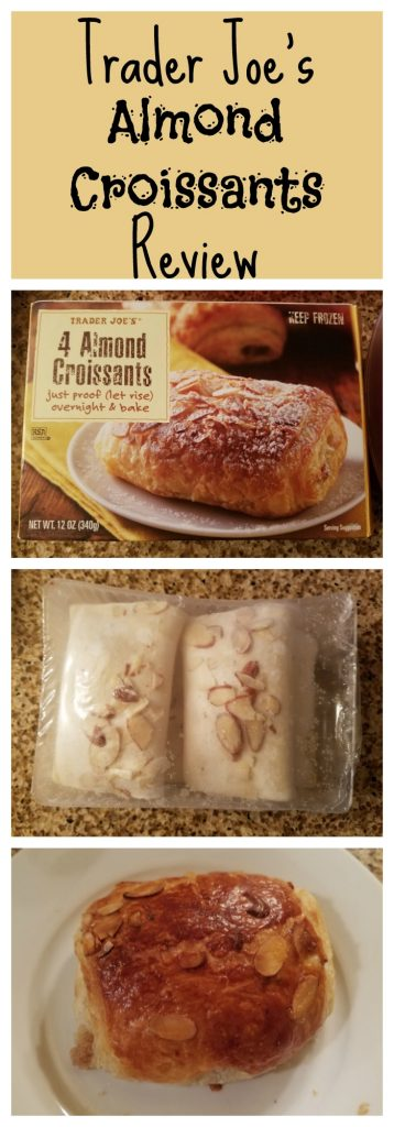 Trader Joe's Almond Croissants are a treat in the frozen breakfast section. My full review follows. Want to know if this is something worth putting on your shopping list from Trader Joe's? All pins link to BecomeBetty.com where you can find reviews, pictures, thoughts, calorie counts, nutritional information, how to prepare, allergy information, price, and how to prepare each product.