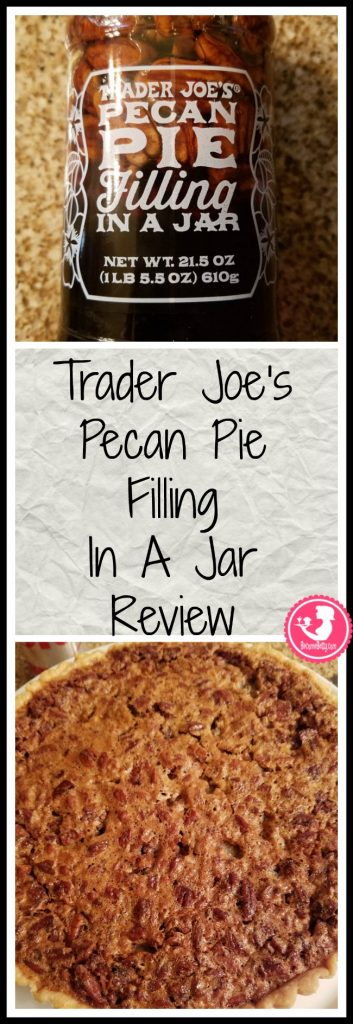 Trader Joe's Pecan Pie Filling in a Jar review of this seasonal treat. My review is posted. Want to know if this is something worth putting on your shopping list from Trader Joe's? All pins link to BecomeBetty.com where you can find reviews, pictures, thoughts, calorie counts, nutritional information, how to prepare, allergy information, price, and how to prepare each product.