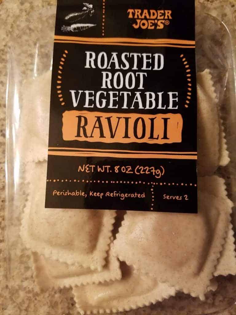 Trader Joe's Roasted Root Vegetable Ravioli