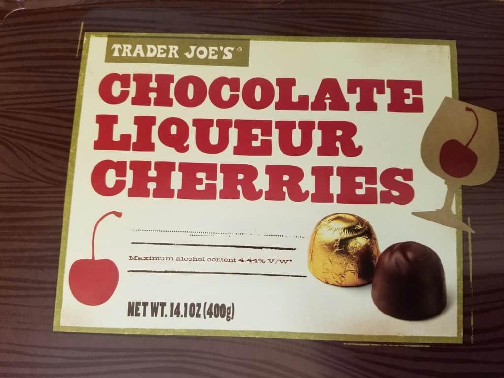 Trader Joe's Chocolate Liqueur Cherries