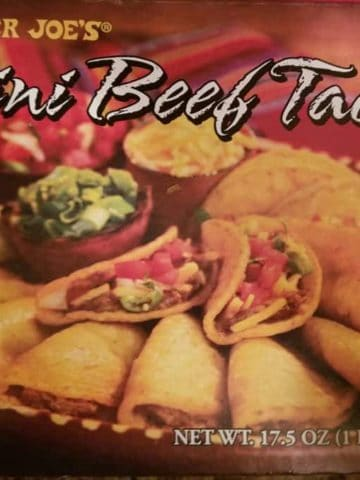 Trader Joes Mini Beef Tacos
